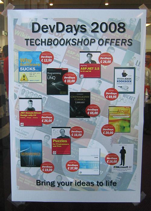 Poster met Handboek XAML
