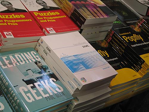 Handboek XAML in de stand van de TechBookShop
