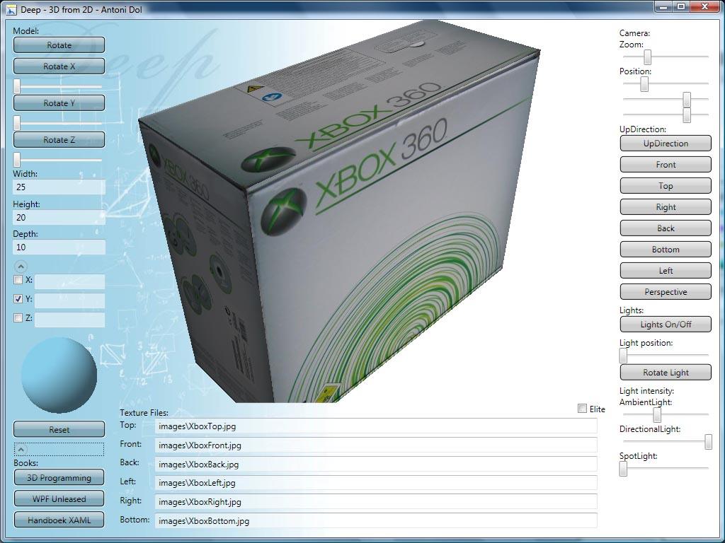 Deep Demo Screenshot