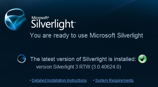 Silverlight 3 RTW