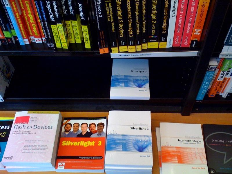 Handboek Silverlight 3 bij Scheltema