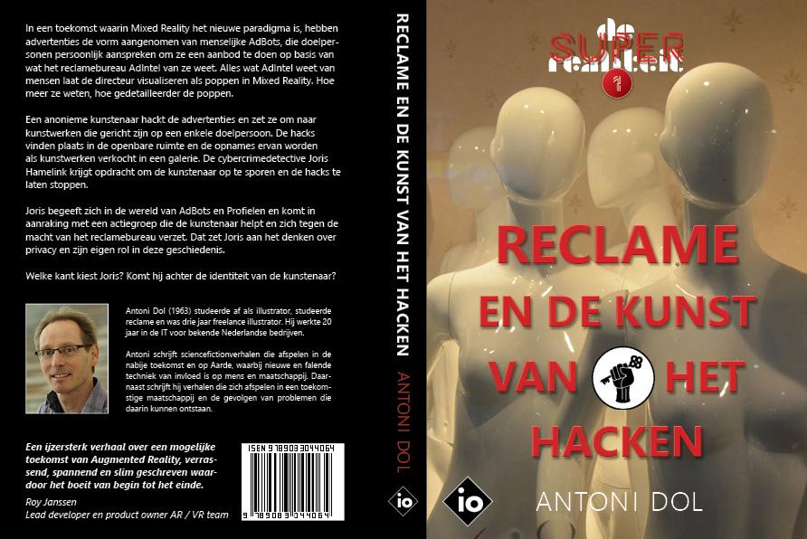 Omslag van Reclame en de Kunst van het Hacken